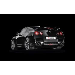 Sistema de Escape Akrapovic evolution Nissan GTR