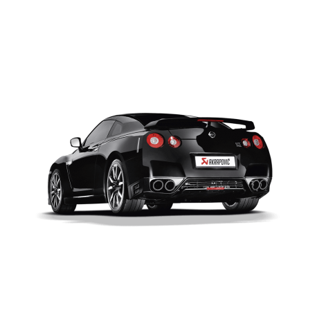 Escape Akrapovic evolution Nissan GTR
