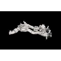 Sistema de Escape Akrapovic Slip On Titanio Homologado Ferrari 488 GTB