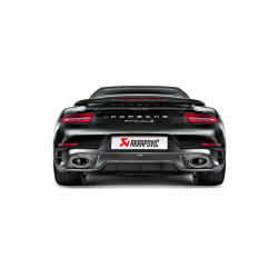 Sistema de Escape 991 Turbo/ Turbo S Akrapovic Slip-On
