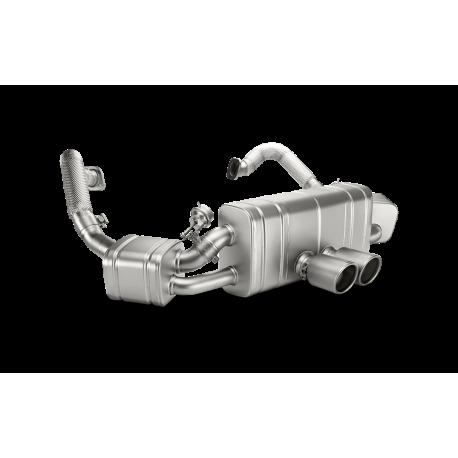 Sistema de Escape Akrapovic Porsche Boxter / Cayman / S / GTS (981) 12-16 Slip-On Titanio Homologado