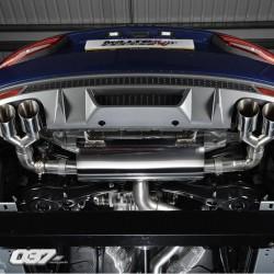 Sistema de escape Milltek Audi S1