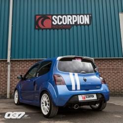 Escape Scorpion Renault twingo RS
