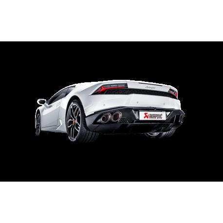 Sistema de Escape Lamborghini Huracán LP 610-4 Akrapovic Slip-On