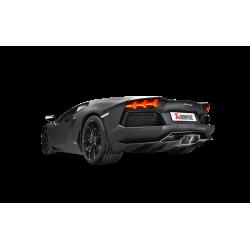 Sistema de Escape Titanio Lamborghini Aventador 11-16 Akrapovic Slip-On