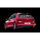 Sistema de Escape Akrapovic VW Golf VII GTI 13-16 Slip-On Titanio Homologado bocas carbono