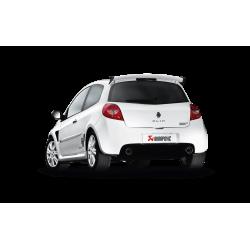 Escape Akrapovic Evolution Renault clio RS