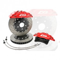 Kit de frenos D2 Racing 356mm Volswagen Golf 7 GTI