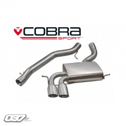 Sistema de escape Cobra Audi 8P 3.2
