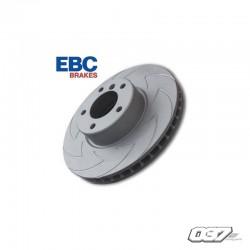 Disco de freno Ebc rayado y perforado Renault Clio 3 rs