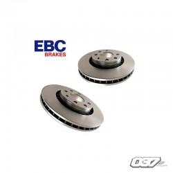 Disco de freno Ebc liso Audi S3 8l